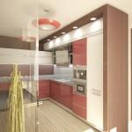Удобная подсветка в кухне