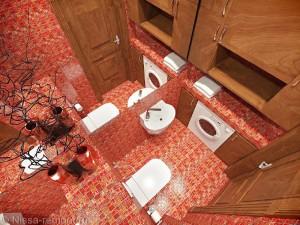 Оформление туалета в восточном стиле