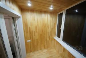 Отделка лоджии в трехкомнатной квартире
