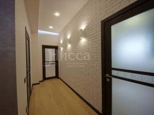 Дизайн и ремонт трехкомнатной квартиры на Российской 21