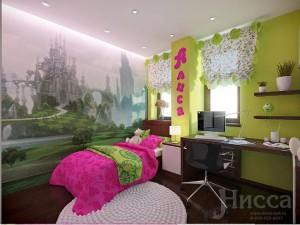 Фотообои в дизайне детской комнаты