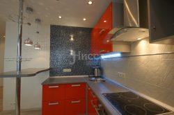 Стеклянная мозаика для отделки фартука кухни. Идеи для ремонта квартиры.