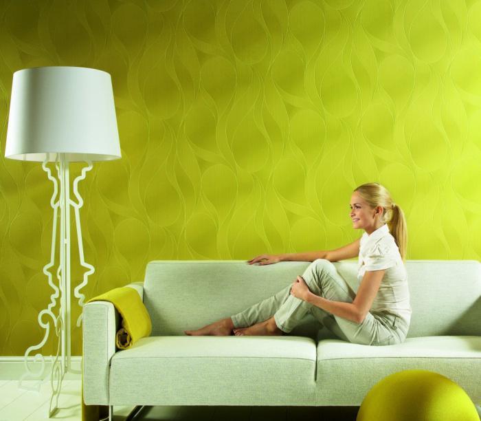 Обои под покраску позволяют без ограничений реализовать задуманный цвет стен