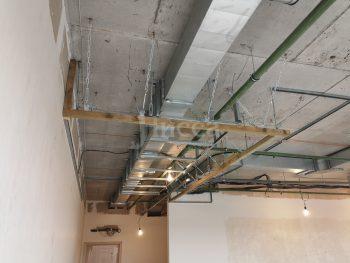 Усиление каркаса гипсокартонного потолка
